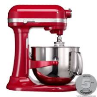 robot petrin kitchenaid artisan 6.9 rouge empire 5ksm7580xeer