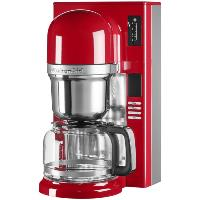 cafetière kitchenaid 8t.1200w.1,18l.prog.rouge.