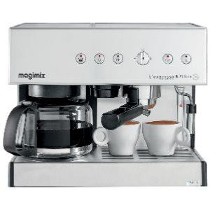 magimix combi.ref 11423 19bars.1,2l.chrome mat.